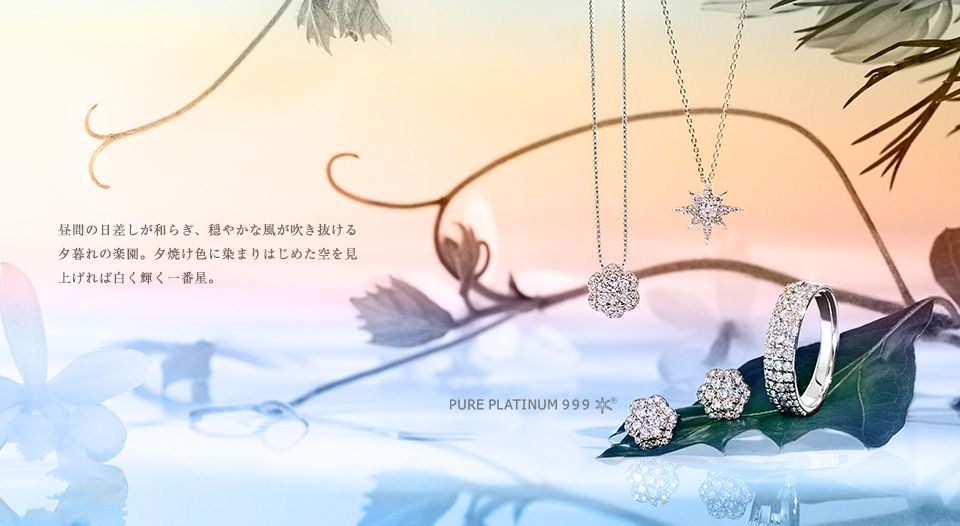 SUMMER COLLECTION - PURE PLATINUM 999